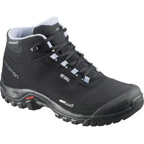 Salomon W's Shelter CS WP Shoes Black/Black/Stone Blue